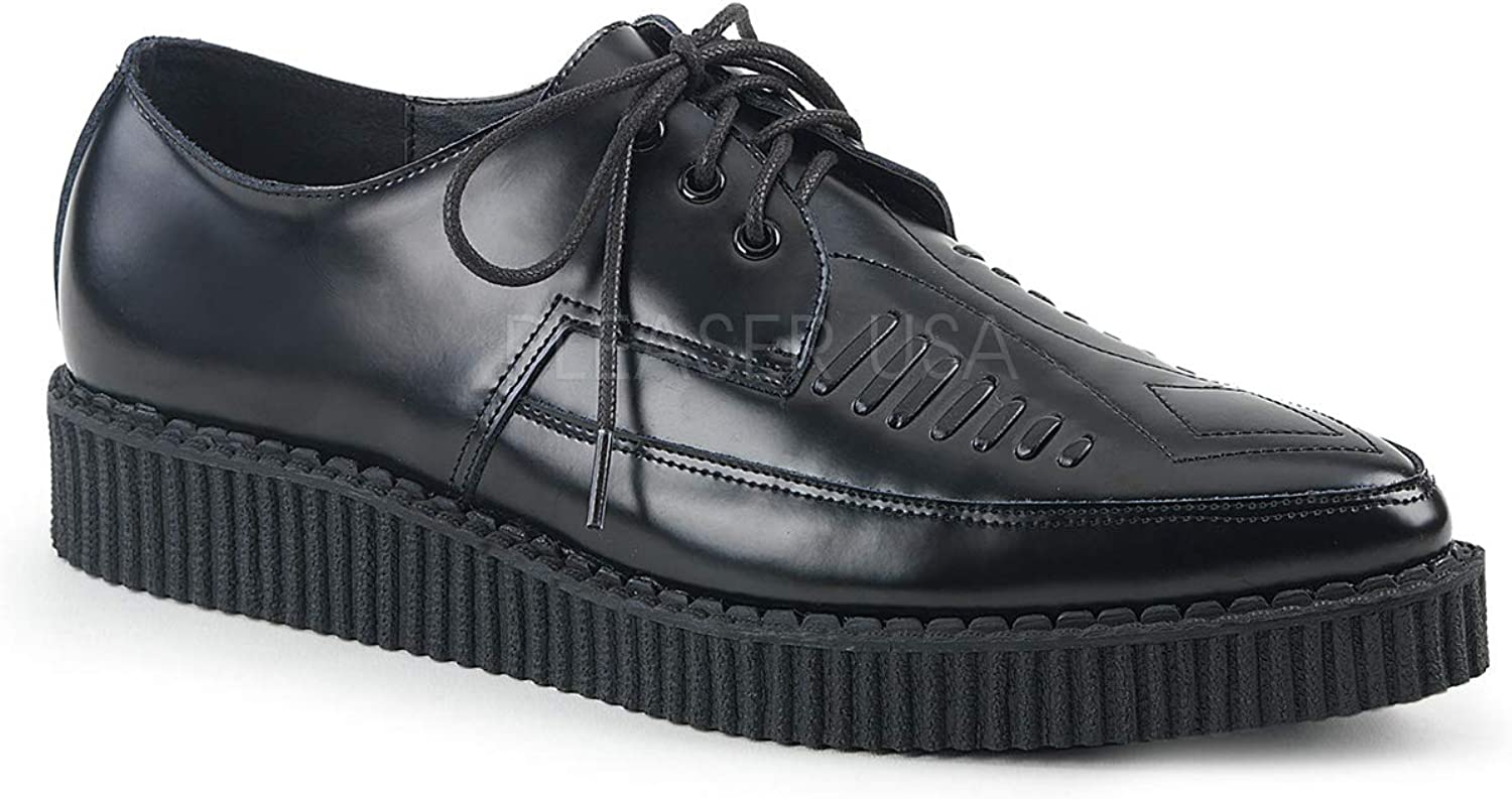Demonia Mens CREEPER-712 BLE shoes