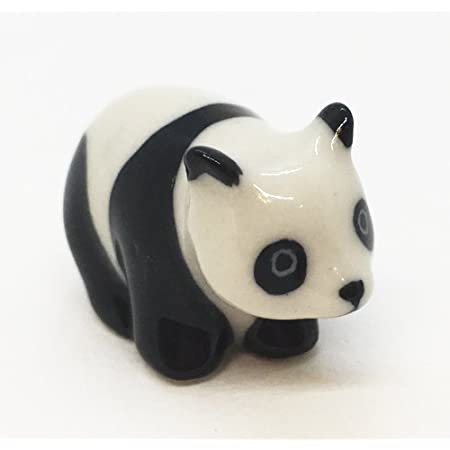 3 Red Panda Ceramic Porcelain Animal Figurine Miniature Animal,Figurine,Collectible,Red Panda Porcelain,Red Panda Figruine,Home Decor Gifts