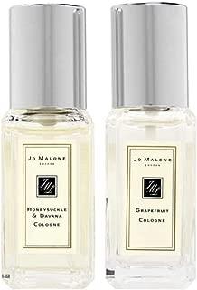 Jo Malone Grapefruit Cologne and Honeysuckle & Davana Cologne Travel Size. 9 ml / .3oz Each.
