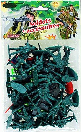 Cofalu - 500 - Figurine - Soldats Modernes + Accessoire- Modèle aléatoire