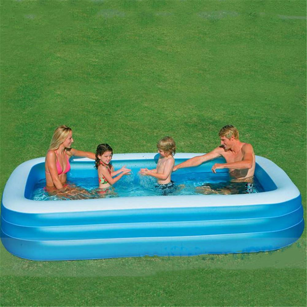 SUWIN Pequeña Piscina Inflable Familiar, Piscina Infantil de ...