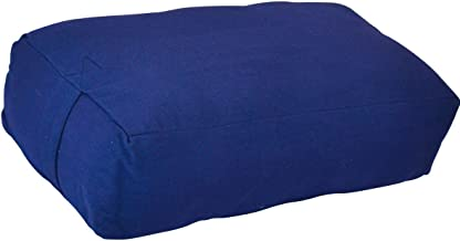 YogaAccessories Supportive Rectangular Cotton Yoga Bolster