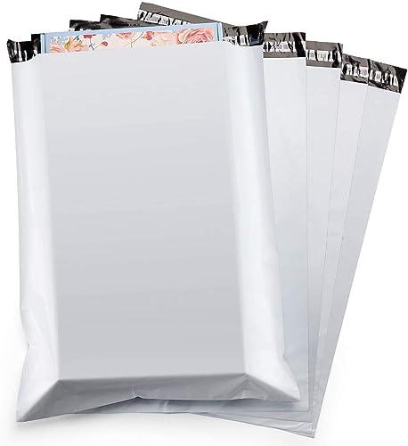 Switory 100pc 48.3cmx61cm Grands Sacs d'expédition Plastique Blanc, des Enveloppes d'expédition, des Sacs d'affichage...