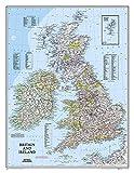 Britain And Ireland Executive Laminated Map: Wall Maps