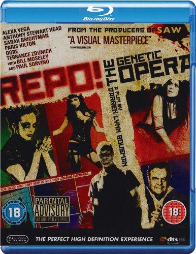 Repo - A Genetic Opera [Edizione: Regno Unito] [Reino Unido] [Blu-ray]