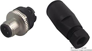 99-0429-14-04 - Circular Connector, 713 Series, Cable Mount Plug, 4 Contacts, Screw Pin, Threaded, (Pack of 2) (99-0429-14-04)