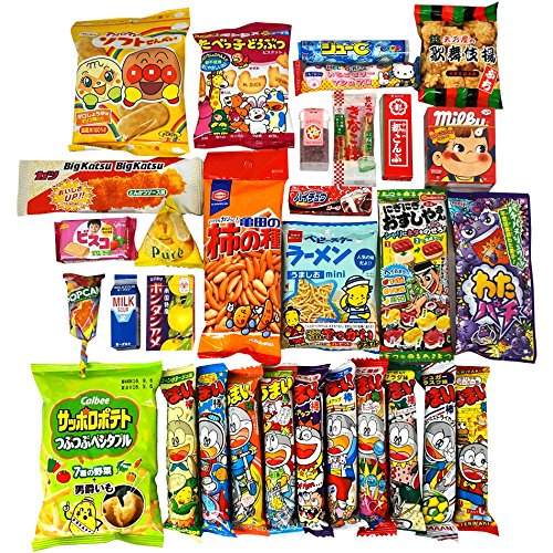 Assorted Japanese Junk Food Snack Dagashi NT6000019 by Dagashi