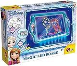 Lisciani-LA Reine des NEIGES Loisirs CREATIFS – Ardoise Magique Fluo A LEDs NEIGES-63178, 63178,...