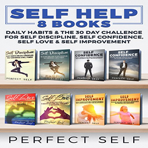 Self Help: 8 Books audiobook cover art