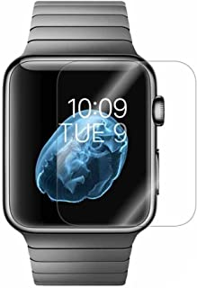 2 Pack Compatible Apple Watch Screen Protector 38mm Series 3 2 1,Enegg HD Anti-Scratch Bubble Free Edge to Edge Film Acces...