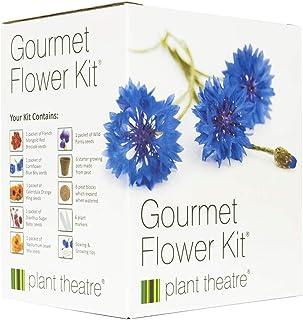 Gourmetblumen-Kit von Plant Theatre - 6 Essbare Blumenarten zum Anbauen  ein großartiges Geschenk