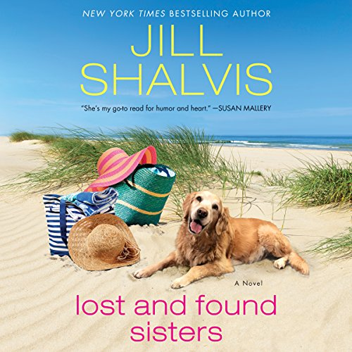 Lost and Found Sisters audiobook cover art