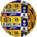Southwire 28828222 12/2 50' SIMpull Residential Indoor Electrical Wire