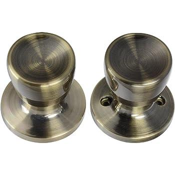 Weslock 00600EAEASL20 Eleganti Knob Antique Brass