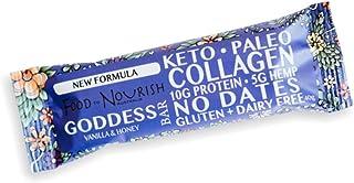 Food to Nourish Vanilla and Honey Collagen Bar, 40 g