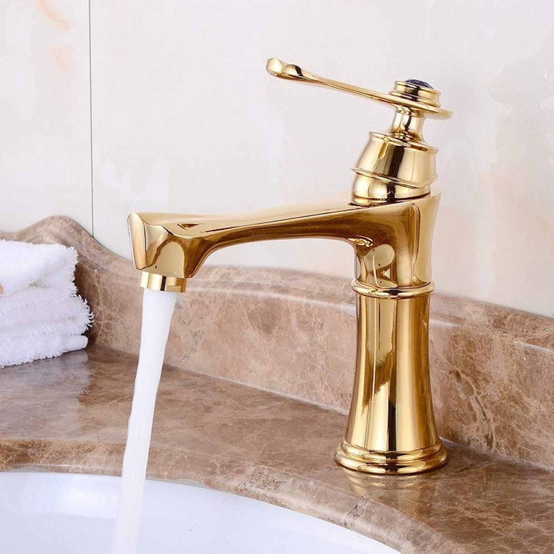 Waschtischarmaturen YHSGY Messing VerGoldet Bad Wasserhahn, Papagei Wasserhahn Becken Wasserhahn Hot & Cold Mischbatterie Bacia Torneira