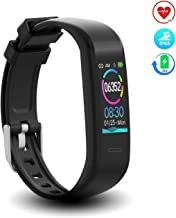 DoSmarter Waterproof Fitness Tracker Heart Rate Monitor Watch, All-Day Activity Tracker Kids Pedometer Watch with Step Calories Sleep Tracker, Comfy Smart Band Health Tracker for Man Woman Best Gift