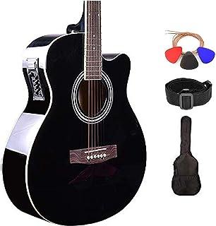 گیتار آکوستیک سری Kadence Frontier 40inch با / بدون EQ و کیف (Combo Electro Acoustic، Black)