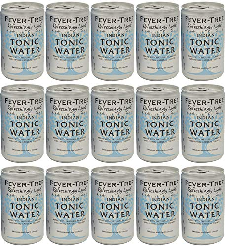Fever-Tree Refreshingly Light Premium Indian Tonic Water 15 x 150ml Cans
