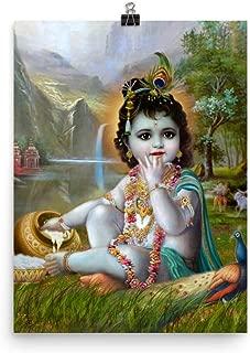Bala Krishna, Baby Krishna. Photo Paper Poster