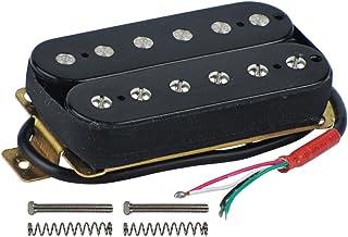 FLEOR Electric Guitar Humbucker Pickups Bridge Alnico 5 Pickup Black