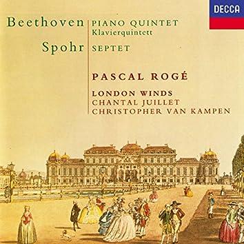Beethoven: Quintet for Piano & Winds / Spohr: Wind Septet
