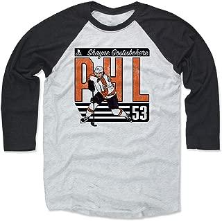 500 LEVEL Shayne Gostisbehere Shirt - Vintage Philadelphia Hockey Raglan Tee - Shayne Gostisbehere City