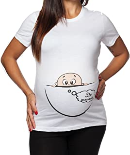 maniche corte idea regalo T-shirt pr/émaman con disegno spiritoso