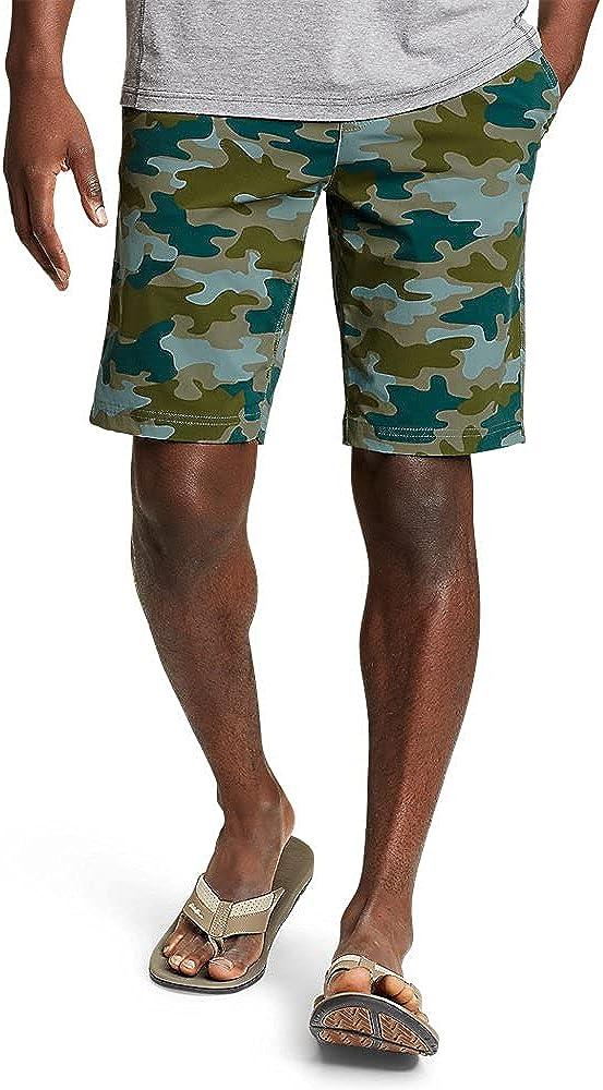 Eddie Bauer Men's Horizon Guide Chino Shorts - Pattern