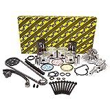 Evergreen OK3005AM/2/1/1 Fits 90-97 Nissan D21 Pick Up 2.4 SOHC KA24E 12V Master Overhaul Engine Rebuild Kit