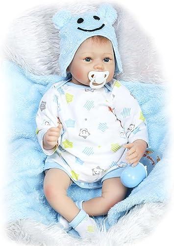 Broadroot Sü Realistische Reborn Puppe Simulation Baby Kinder Silikon Baumwolle Hochzeit Geschenke Playmate Stofftiere