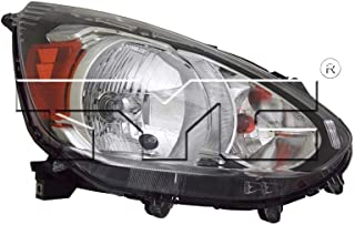 TYC 20-9681-00-1 Replacement Right Head Lamp for Mitsubishi Mirage