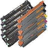5x Cartucho IBC + 4x IBC de carga para Brother DCP de 9015CDW/DCP de 9017DCP de 9022CDW/DCP 9020CDW/2