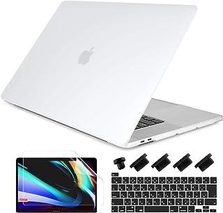 Batianda Macbook Pro 13 ケース 2020 A2338/A2252/A2289 対応 耐衝撃 つや消し 排気口設計 New MacBook Pro 13インチ Touch Bar 搭載専用 シェルカバー + JIS配列日本...