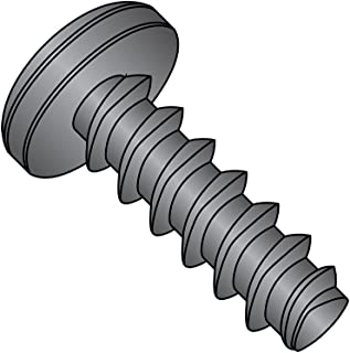 Pack of 100 Steel Thread Rolling Screw for Metal Pan Head Zinc Plated 5//16 Length #5-40 Thread Size Phillips Drive