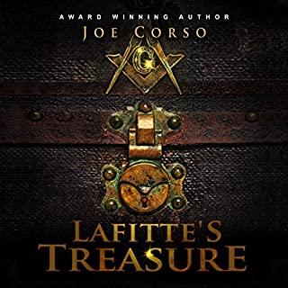 Lafitte's Treasure audiobook cover art