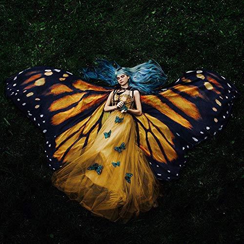 Schmetterlingsflügel monarch mantel kostüm flügel erwachsener feenhafte