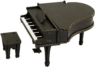 JIGZLE Piano 3D Paper Puzzle DIY Kit - Laser Cut Miniature Musical Instruments