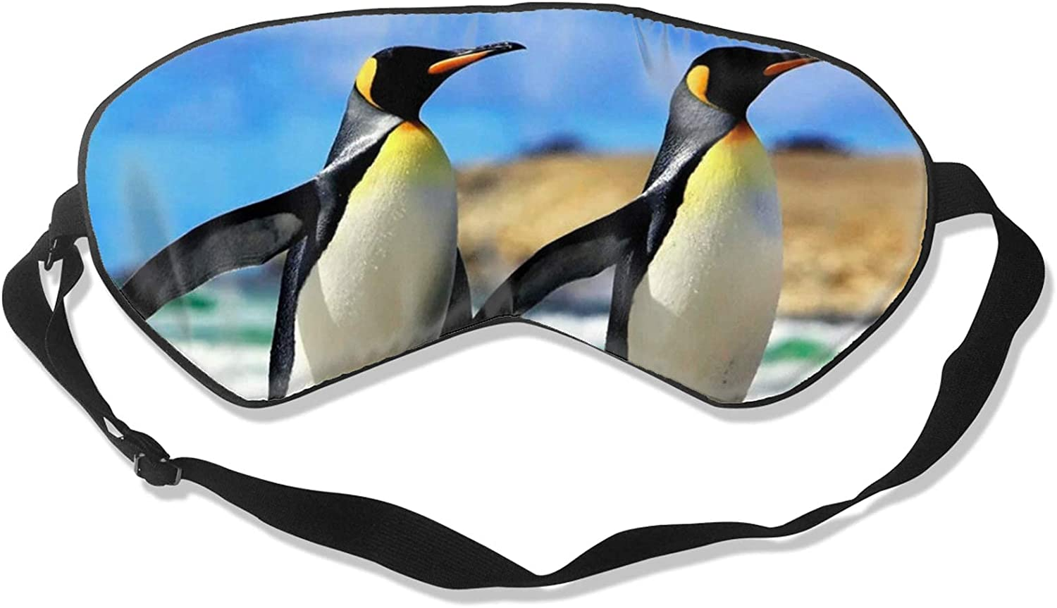 Cute Penguin Soft Sleeping Eye Block-Light Max 55% OFF Mask Challenge the lowest price Cover Sleep