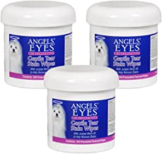 ANGELS' EYES 100 Count Gentle Tear Stain Wipes (3 Pack)