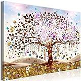decomonkey Bilder Baum Abstrakt 90x60 cm 1 Teilig