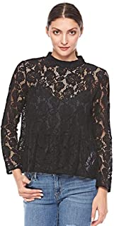 Levi's crochet blouse for women in Black, Size: L