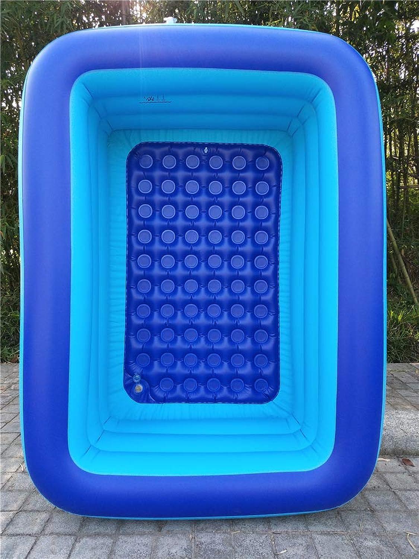 CQ Cartoon inflatable pool, kids paddling pool, PVC animal marine ball pool large space fishing pool rectangle 239×206×86cm