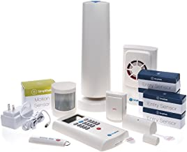 SimpliSafe SSCS2 Simplisafe2 Wireless Home Security Deluxe Pack, (13 Pieces)