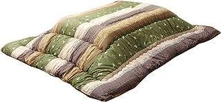 イケヒコ こたつ布団 長方形 こよみ 約205×285cm グリーン 和 厚掛け 大判 日本製 うさぎ柄 #5965059