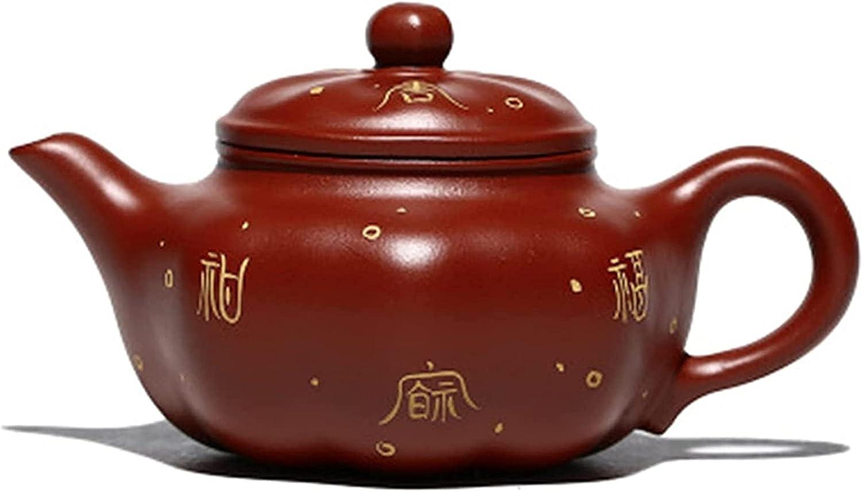 Regular Louisville-Jefferson County Mall discount M.XIAO Purple Sand Teapot Eight-Petal Handmade Famous Pot Master
