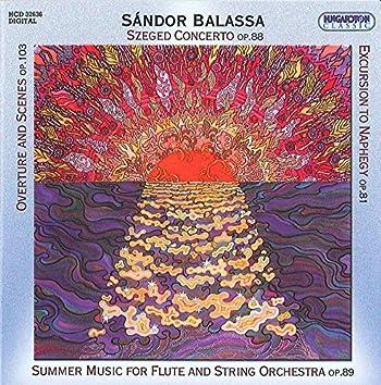 Sandor: Overture and Scenes / Szegedi Concerto / Summer Music / Excursion to Naphegy