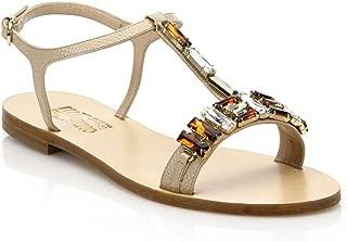 Salvatore Ferragamo Gelso T Strap Sandals