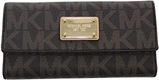 fe8b0d2773b7 Michael Kors Jet Set Item PVC Checkbook Wallet