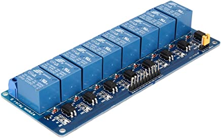 ROUHO 6 Channel 12V Relay Module Low Level Trigger With Optocoupler
